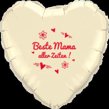 Folienballon - Beste Mama aller Zeiten (heliumgefüllt)