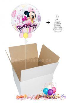 1. Geburtstag Minnie Maus - Ballongruß per Post