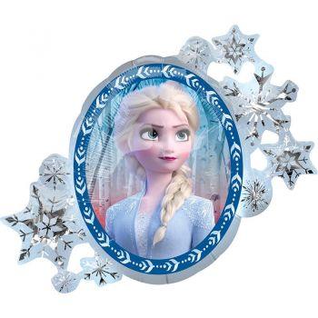 XXL Folienballon - Frozen 2 Anna & Elsa (heliumgefüllt)